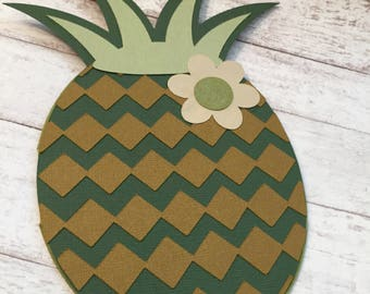 Pineapple Card, Friendship Card, Handmade Card, All Occasion Card,
