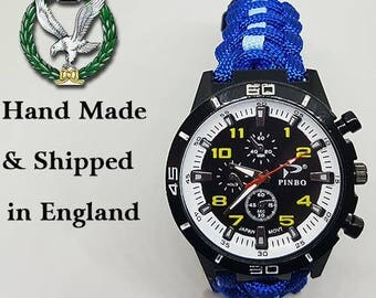 Army Air Corps Paracord Watch
