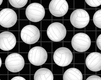 Volleyball Fleece Throw Blanket /David Textiles/Free shipping available/volleyball blanket/sports blanket