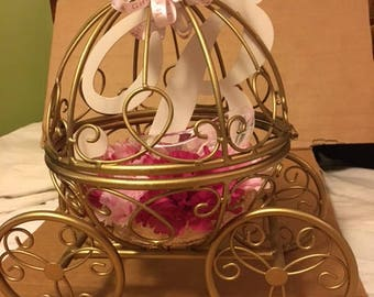 Gold Cinderella Carriage
