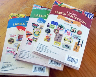 """Stickers """"Labels Collection"""""""