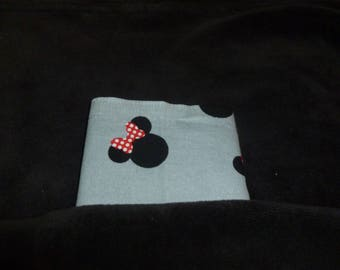 Minnie Mouse youth pocket square,  7 1/2 inch pocket square, grey youth pocket sq, disney youth pocket sq, matching accessories