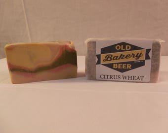 Old Bakery Brewing Company Citrus Wheat Soap