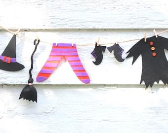 Halloween Garland, Halloween Witch, Halloween Party Decor, Kids Halloween, Glam Halloween