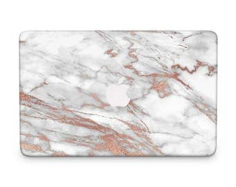 Rose gold, Marble Macbook Case, MacBook Cover, MacBook Air Hard Case, MacBook Skin, MacBook Hard Case, MacBook Pro Case, FrazzleFlorrie