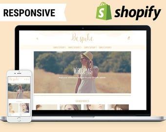 Bespoke Gold - Responsive Shopify Theme