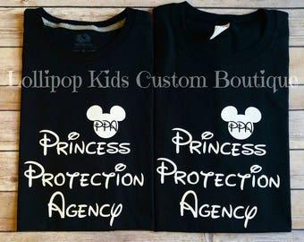 Princess Protection Agency Black short sleeve shirt* (one shirt)