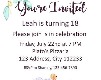 You're Invited Party Invitation