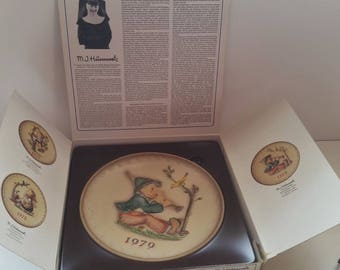 Hummel COLLECTIBLE Plate 1979