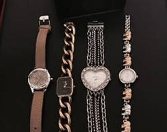 Watch Lot: Gruen / Rumors / Nine West/ Vivani