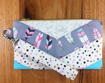 Break the Rules Wristlet - Softly