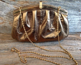 Vintage Gold Crossbody Bag vintage/gold/crossbody/purse