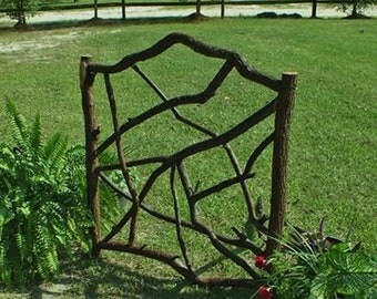 Willow Garden Gate ** Rustic gates**