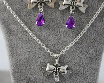 very pretty ornament lucie purple