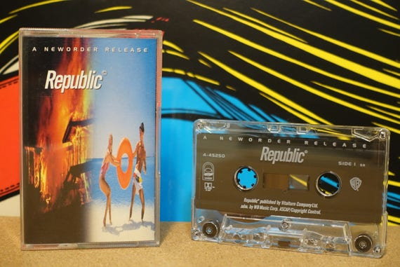 Republic by New Order Vintage Cassette Tape