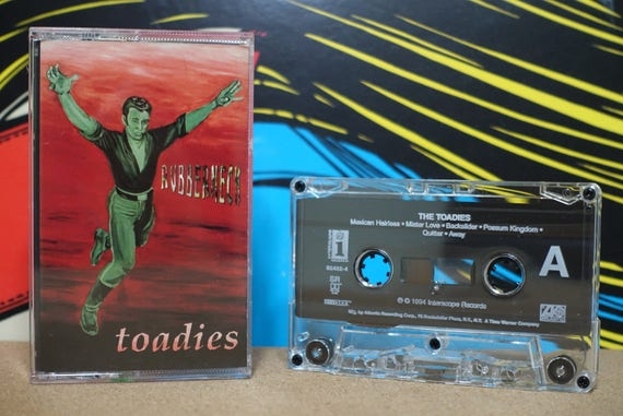 Rubberneck by Toadies Vintage Cassette Tape