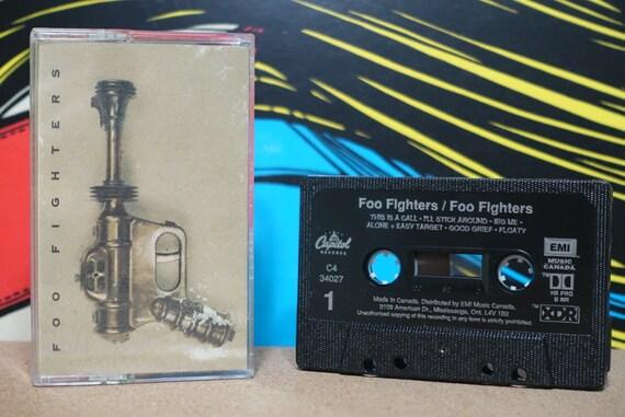 Foo Fighters by Foo Fighters Vintage Cassette Tape
