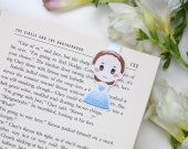 America Singer - Magnetic bookmark  || book lover gifts,  the selection, kiera, bookmark, caas, bookish, maxon, bookworm, bookmarks