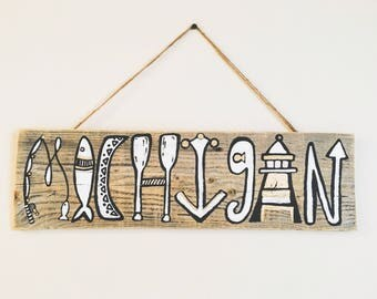 MICHIGAN recycled pallet decor