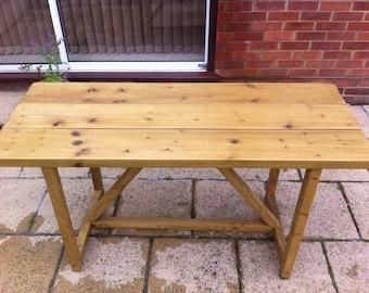 Garden Furniture Handmade patio furniture | etsy uk