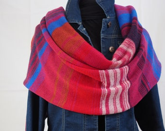 Giant scarf wrap Merino Wool and cashmere.