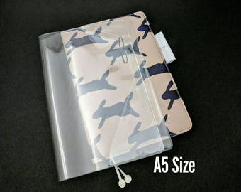 A5 Size Cover on Cover for Hobonichi Planners PVC Cover Unbranded