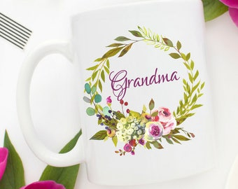New Grandma Mug | Grandma to Be Mug | Grandma Mug | Grandma Christmas Gifts | Pregnancy announcement to Grandma | Pregnancy Reveal