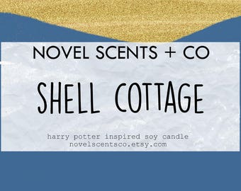 Shell Cottage - Harry Potter inspired soy candle (6oz tin)