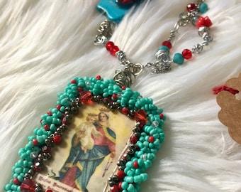 Madonna Pendant Necklace