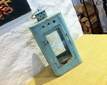 Antique of 40s antique kerosene lamp night lamp night light lantern of Super decorative object