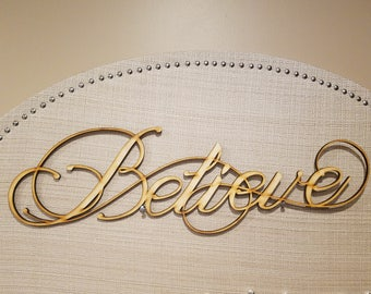 Sign - Laser Cut - Painted or Natural Finishes - Small, Medium, or Large