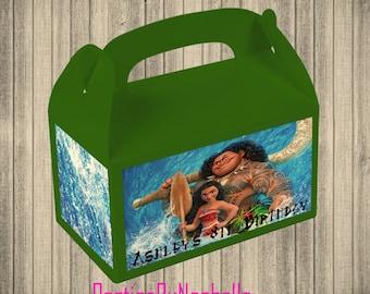 Moana Party Favor Box