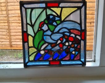 A5 Stained Glass Panel - your design