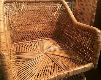 Woven Rattan Chairs
