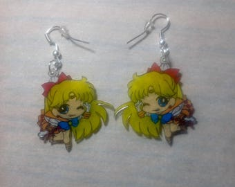Sailor Venus dangle earrings