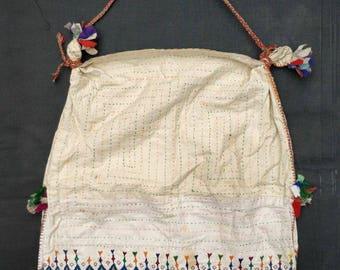 Vintage Banjara embroidery sack bag, Bohemian bag, Indian Gypsy Bag, Tribal shoulder bag, embroidery bag india hippie Boho bag kantha