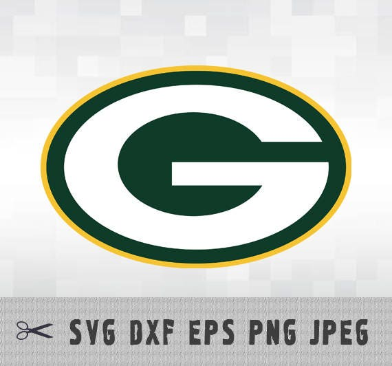 green bay packers svg png dxf logo layered vector cut file