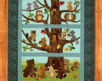 Critter Hollow Quilt Pattern Booklet