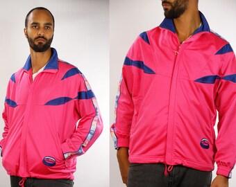 Diadora Shell Jacket / Diadora Windbreaker / Diadora Nylon jacket / Diadora Track Jacket / Diadora Tracksuit / Diadora 90s / 90s Windbreaker