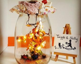 Pumpkin Patch Light Jar