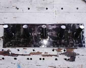5 post industrial style coat rack