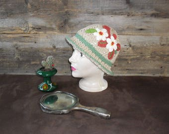 Vintage adult hat, cotton.