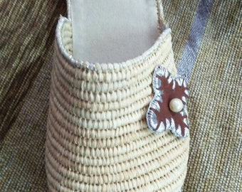 Textured Leather Shoes / / Women Shoes / Every Day Shoes / Comfortable Shoes / Wooden Heels Shoes - Shelly