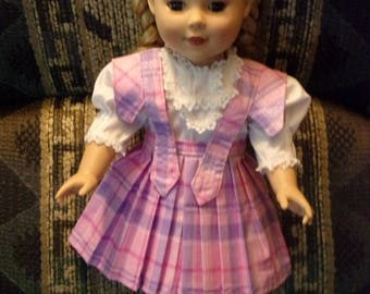 """American Girl or 18"""" Blouse and Skirt set"""