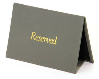 Laxey Reserved Signs - Pack of 10.  Restaurant. Pub. - LAXEYRESERVED