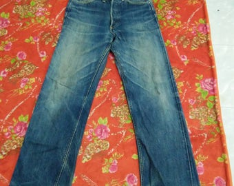 Vintage Lee Union Made Sanforized jeans Selvedge W29 inseam30.5 (709)
