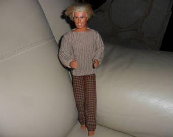 Wool Sweater for Ken, long sleeves
