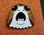 Star Wars inspired Porg Enamel Pin |  Porg Pin Badge | Pin Badges | Soft Enamel Pin Badge