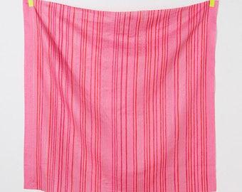 Nani Iro double gauze - RED SAAAA SAAA-Amaki fabric - 50cm