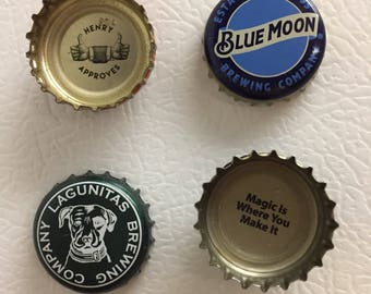 Bottlecap Magnets- Set of 4